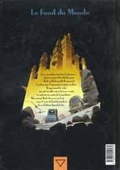 Le fond du monde t.3 ; Basile F - 4ème de couverture - Format classique