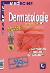 Dermatologie (édition 2007) - Intérieur - Format classique