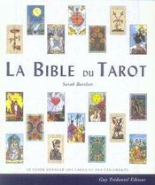 La bible du tarot - Intérieur - Format classique