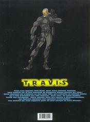 Travis t.6 ; topkapi 2 - 4ème de couverture - Format classique