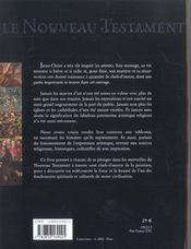Le Nouveau Testament A Travers 100 Chefs-D'Oeuvre De La Peinture - 4ème de couverture - Format classique