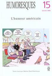 Humoresques T.15 ; L'Humour Américain - Intérieur - Format classique