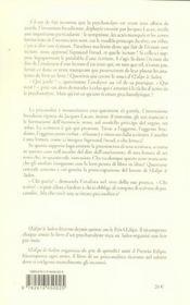 Oedipe A Venise, Conversations - 4ème de couverture - Format classique