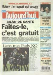 Aujourd'Hui En France N°1166 du 07/02/2005 - Couverture - Format classique