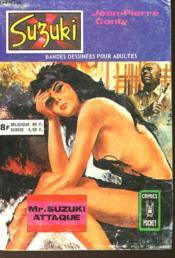 Mr. Suzuki Attaque - Couverture - Format classique