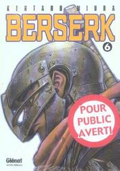 Berserk - Tome 06 - Intérieur - Format classique