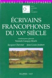 Ecrivains Francophones Du Xxe Siecle - Couverture - Format classique