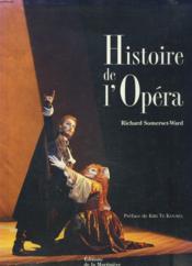Histoire De L'Opera - Couverture - Format classique