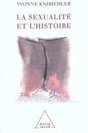 La sexualite et l'histoire - Intérieur - Format classique