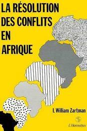 Resolution Des Conflits En Afrique - Intérieur - Format classique