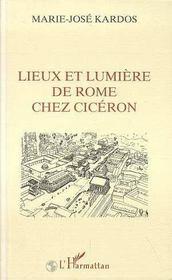 Lieux Et Lumiere De Rome Chez Ciceron - Intérieur - Format classique