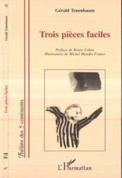 Trois Pieces Faciles - Couverture - Format classique