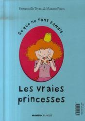 Ce que font toujours... les vraies princesses - 4ème de couverture - Format classique