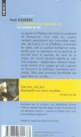 Les monarchies divines t.3 ; les guerres de fer - 4ème de couverture - Format classique