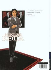 Niklos Koda t.2 ; le dieu des chacals - 4ème de couverture - Format classique