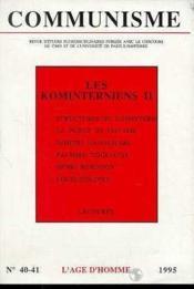 C40/41 Communisme - Couverture - Format classique