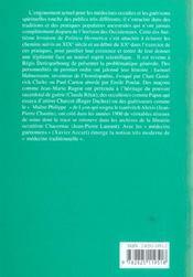 Politica Hermetica N.18 ; Esoterisme Et Guerison - 4ème de couverture - Format classique