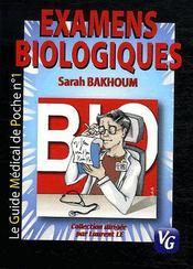 Examens biologiques - Intérieur - Format classique