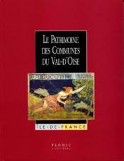 Coffret ; Patrimoine Des Communes Du Val D'Oise - Couverture - Format classique