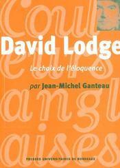 David Lodge. Le Choix De L'Eloquence - Intérieur - Format classique