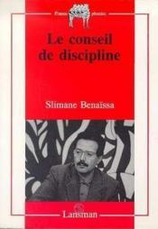 Conseil De Discipline - Couverture - Format classique
