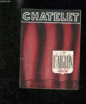 Programme. Chatelet L Aiglon. - Couverture - Format classique