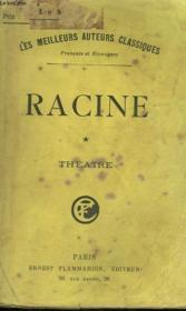 Theatre Complet De J. Racine. Tome 1. - Couverture - Format classique
