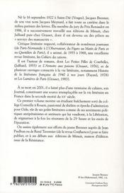 Journal t.1 ; du côté de chez gide, 1940-1949 - 4ème de couverture - Format classique