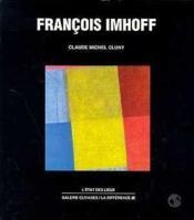 Francois Imhoff - Couverture - Format classique