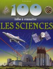 100 Infos A Connaitre ; Les Sciences - Intérieur - Format classique