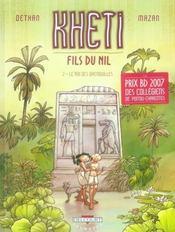 Kheti, fils du nil t.2 ; le roi des grenouilles - Intérieur - Format classique