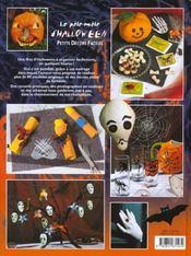 Pele Mele D'Halloween (Le) - 4ème de couverture - Format classique