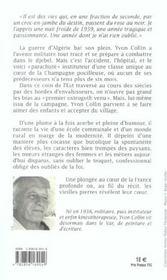 Journal D'Un Instituteur De Campagne - 4ème de couverture - Format classique