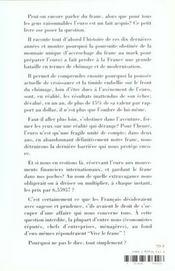 Vive Le Franc - 4ème de couverture - Format classique