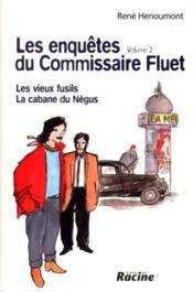 Enquêtes du commissaire Fluet t.2 - Couverture - Format classique