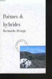 Poemes Et Hibrides - Couverture - Format classique