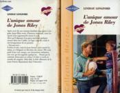 L'Unique Amour De Jonas Riley - Daddy By Decision - Couverture - Format classique