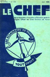 Le Chef N° 132 Juin 1933 - Couverture - Format classique
