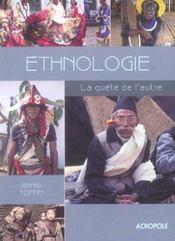 Ethnologie, la quete de l'autre - Intérieur - Format classique