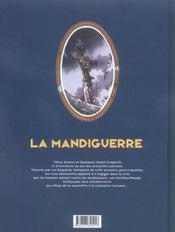 La mandiguerre t.3 ; le revers de la médaille - 4ème de couverture - Format classique