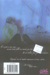 Secret sweetheart t.2 - 4ème de couverture - Format classique