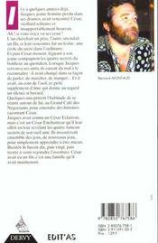 Cesar L'Enchanteur - 4ème de couverture - Format classique