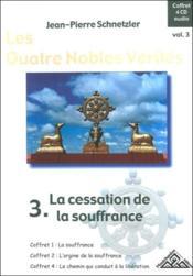 Quatre nobles verites volume 3 - Couverture - Format classique