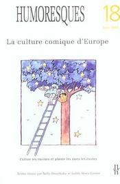 Humoresques, N 18. La Culture Comique D'Europe - Intérieur - Format classique
