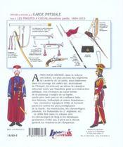 La garde imperiale t.3 ; les troupes à cheval, 1804-1815 - 4ème de couverture - Format classique