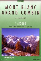 Mont Blanc-Grand Combin - Couverture - Format classique