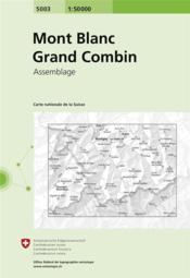 Mont Blanc-Grand Combin - 4ème de couverture - Format classique