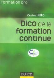 Dictionnaire de la formation professionnelle - Intérieur - Format classique