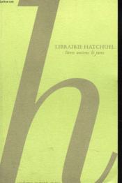 Catalogue N°44. Livres Ancies Et Rares - Couverture - Format classique