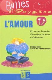 Amour (L') - Couverture - Format classique